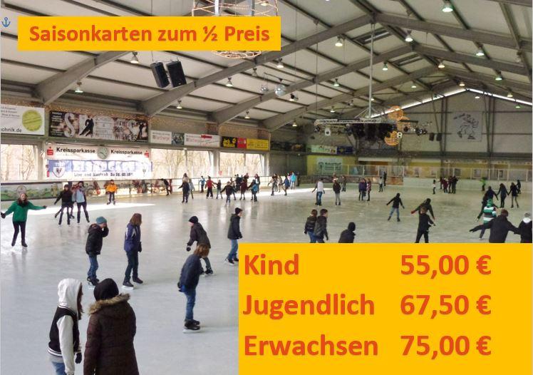 saisonkarten halber preis 2017 - 2